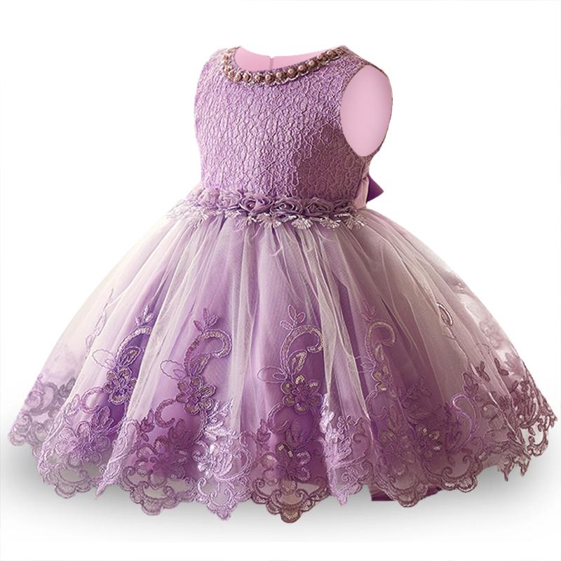 1ba6552daa142 Printemps Dentelle Princesse Robe pour 3 ans enfant Rose Robe de fête D  anniversaire fleur