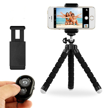 Phone Tripod Anconic Flexible Cell Phone Tripod With Remote For