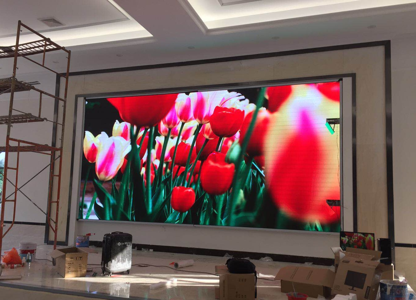 P5 rgb smd led display panel indoor p5 video wall rental LED screen