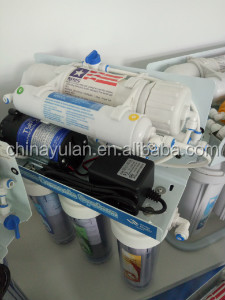 Taiwan CE 5/6/7 stage UV reverse osmosis water filter system