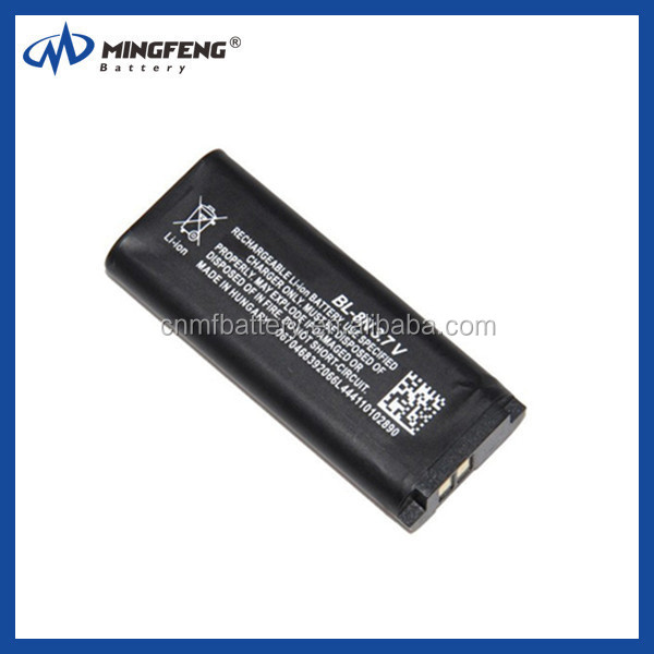 Long standby time Replacement Battery For Nokia BL-8N compatible phone for 7280/7380