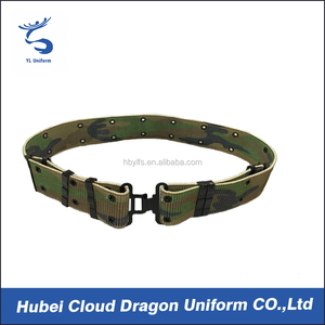 Survival Tactical Camouflage Belts Wide Duty Army Belt Metal Buckle