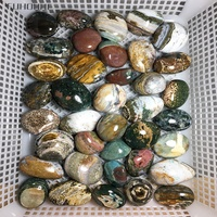 NATURAL OCEAN JASPER QUARTZ CRYSTAL HEALING palm stone