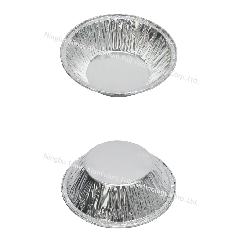 Round Aluminum Foil Container As Pie Tray Buy Household