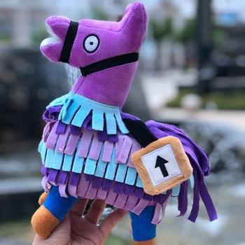 2018 Amazon Hot Selling Purple Llama Alpaca Stuffed Plush Toy
