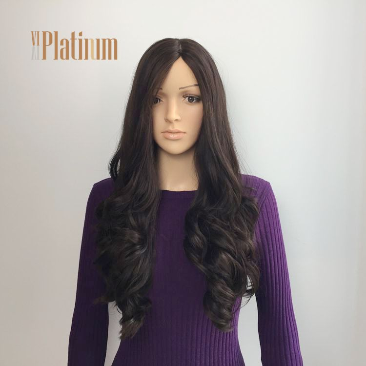 Perfect Look Virgin Remy Human Hair Jewish Wigs Supplier in China
