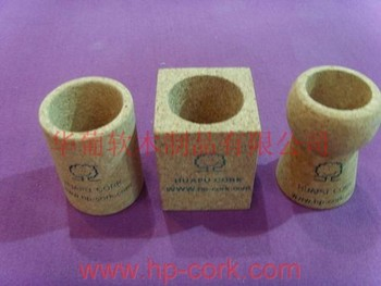 cork pen pot with customized size