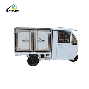 Fully enclosed electric ice cream tricycle/cheap cold chain transport tricycle/three wheel ice cream bike