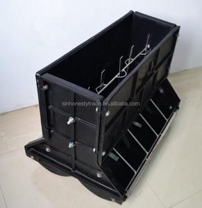 Automatic Thicken Plastic Feeder Double Face Feeder for Piglet pig