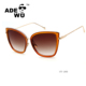 ADE WU italy design ce cat 3 uv400 fashion sunglasses newest 2016 women