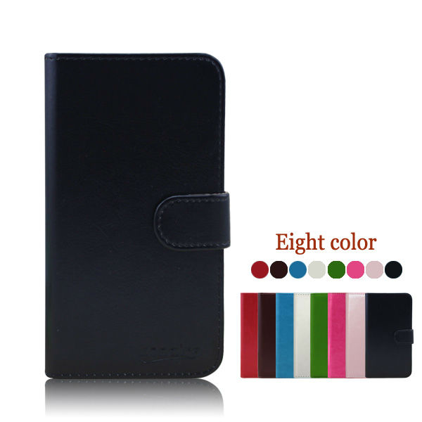 Slim Leather Flip Case for Nokia 301 cell phone cover Mix color made in china