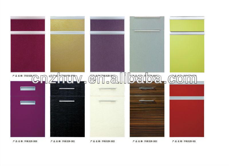 Vinyl Wrap Kitchen Cupboard Doors