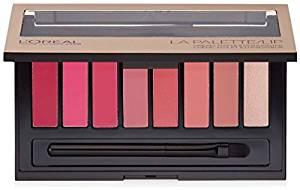 L'Oreal Colour Riche Lip La Palette Lipstick, Pink (Pack of 2)