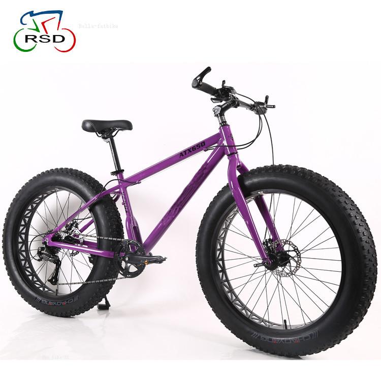 Aluminum Alloy Frame Rsd Bike 26 Inch 21speed Big Tire Fat Bike