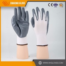 CE Standard nitrile coated working gloves cheap price