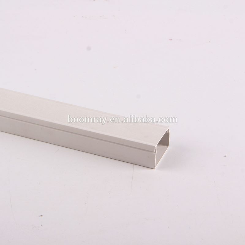 Latching Surface Solid Wall and Ceiling Raceway Solution pvc cable trunking size White