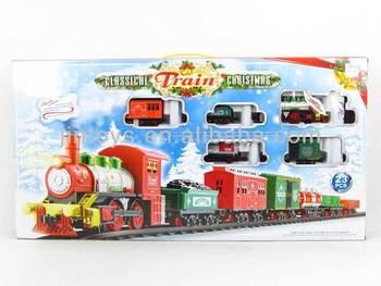 Thomas Christmas Train Set.Battery Operated Orbit Smoking Train B O Christmas Train Set With Light Music Aa014155 Buy Battery Operated Toy Train Set B O Train With