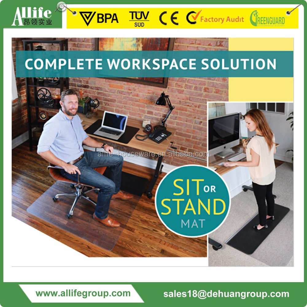 Commercial Grade Luxury comfort Floor Mat for Office Standup Desk