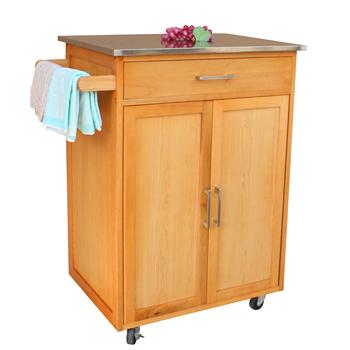 Cocina De Madera De Muebles De Cocina De Gabinete De Almacenamiento Con  Ruedas - Buy Muebles De Carrito De Cocina,Gabinete De Almacenamiento De ...