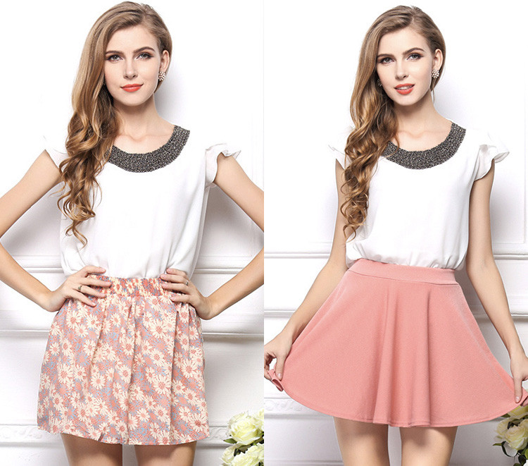 2016 Latest Formal Skirt Blouse Patterns For Ladies - Buy Latest ...