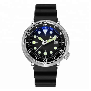 Retail 316L Stainless steel Sterile Tuna Japanese NH 35A automatic movement 20ATM water resistance Diver dive Watch