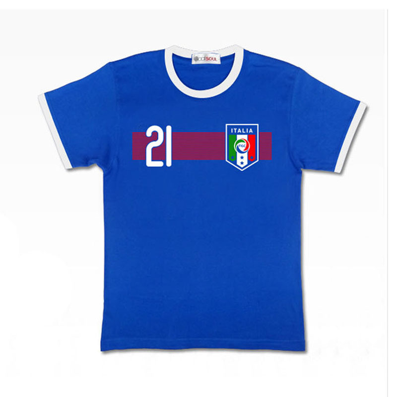 4b244bf7e Buy Italy Home 2015 Champions League Juventus Football Shirt 21 Number ANDREA  PIRLO Juventus Jersey Men Replica Soccer Jersey in Cheap Price on  m.alibaba. ...