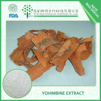 Pure natural Male Health care product Corynante Yohimbe extract in bulk by HPLC