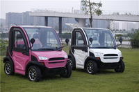 2015 Best Quality 4 Wheel 2 Seat Electric Car