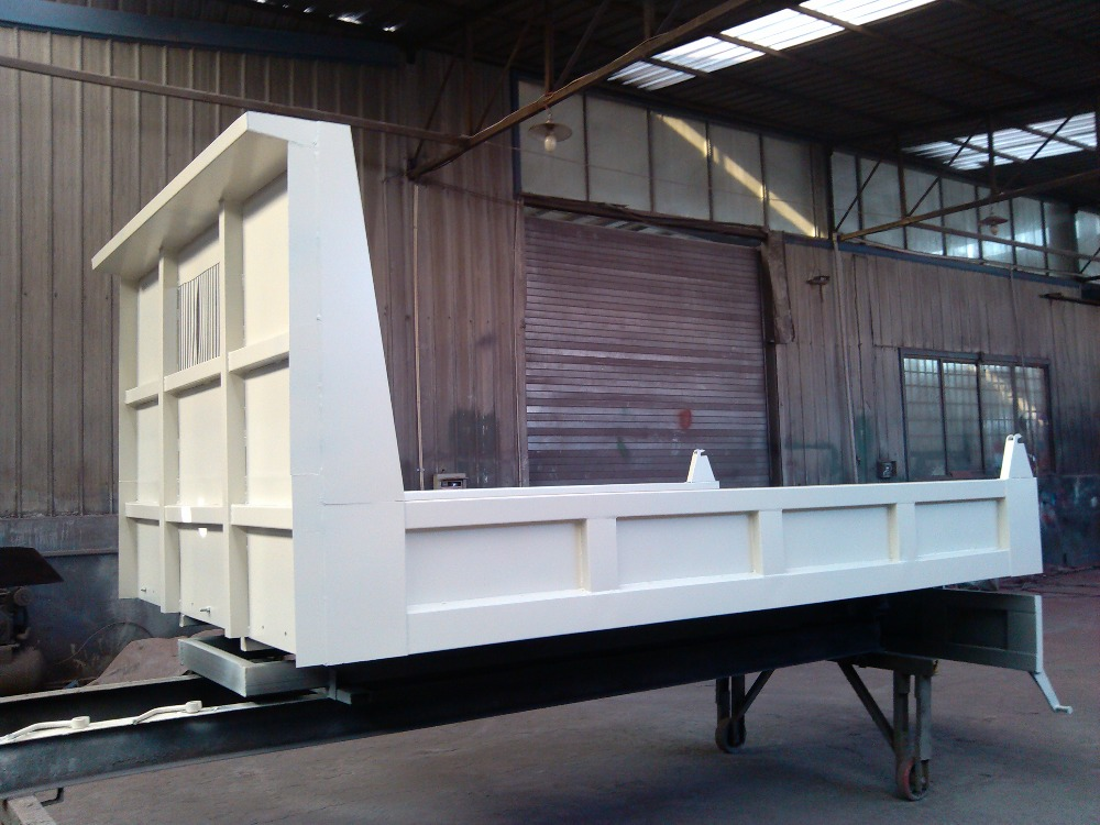 Reliable Chinese manufacturers produce truck or trailer body tipper bodies