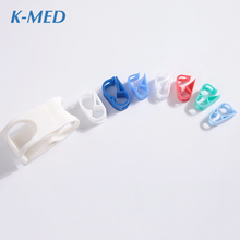 Medical supplies colorful pvc plastic pipe clip accessories