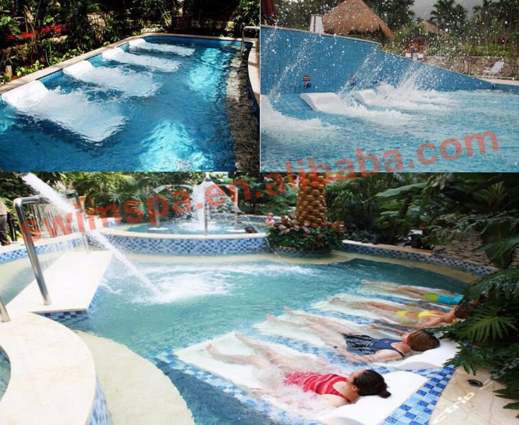 High quality acrylic swimming pool beds massage buy bed for Swimming pool bed
