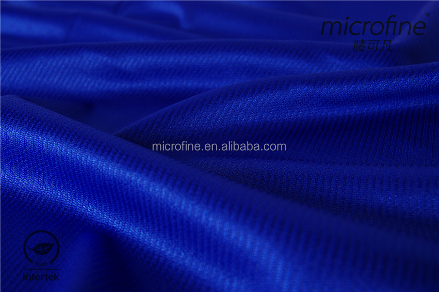 nice 100% polyester weft knintting shinny fabric with stripe