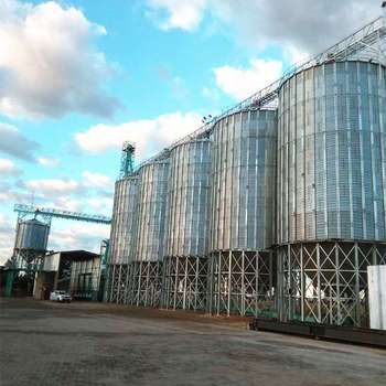Gold Supplier Galnaized Metal Types of Soybean Storage Silos Bin for Sale