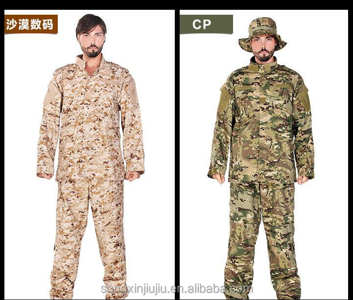 fanshion ACU military camouflage uniforms clothing