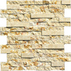 Chinese natural stone beige culture stone tiles for wall decoration