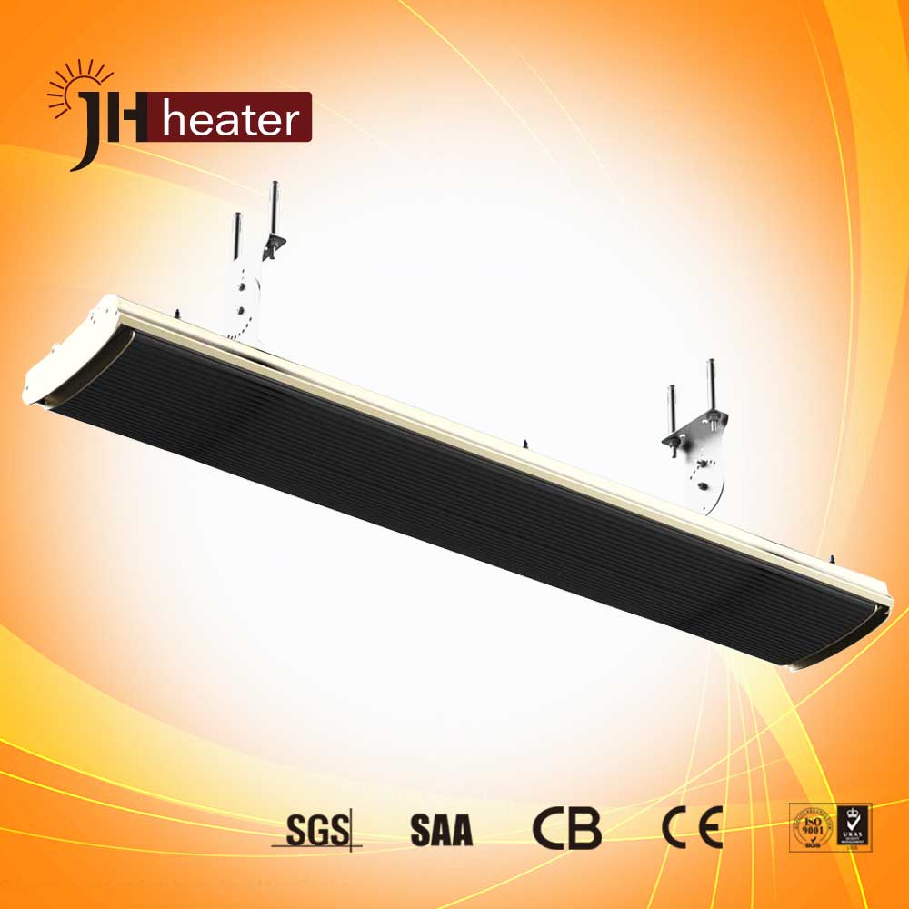 1.8kw Electric Instant Heater Infrared Heater Quartz Patio Outdoor Ceiling Electrical Wall Mounted Halogen Radiator