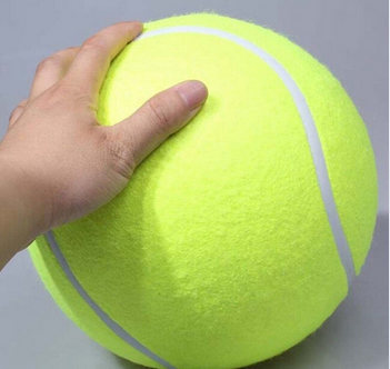 Giant Tennis Ball 9.5 Inch Dog Toy Signature MEGA JUMBO