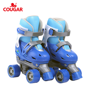 Kids quads factory made patines cheap price adjustable hard boots roller skates