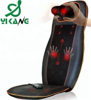 High Frequency Vibrating Adjustable Neck Back Shiatsu Kneading Massage Cushion Vibration Massage Chair Seat Cushion Buy Vibrating Heated Chair