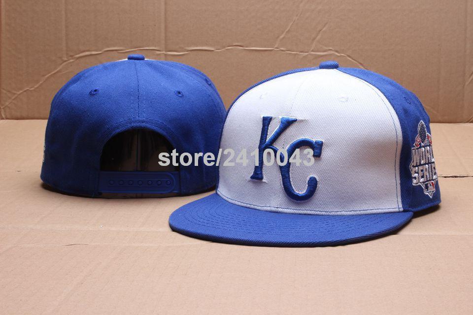 best loved 1b783 3b0b1 ... 2015 american league champion newera f996d cf7c8  where to buy mens kansas  city royals world series snapback hats white blue color blocking baseball