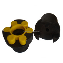 Plum blossom flexible coupling New 45 steel Round Elasticity coupling ML Couplings High Torque Coupler ML1 D=50 L=80