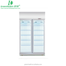 Upright Refrigerated Display Cabinet Used Supermarket Freezer for Beverage/Dairy/Chocolate Display