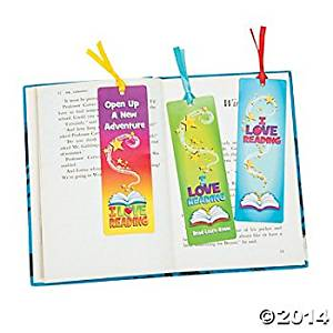 """24 Paper BOOKMARKS- """"I Love Reading""""/STUDENT/SCHOOL/TEACHER/CLASSROOM Supplies/STATIONERY"""