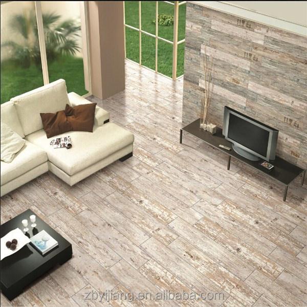 O pre o piso de madeira mosaico azulejo piso r stico na for Pisos y azulejos para sala y comedor