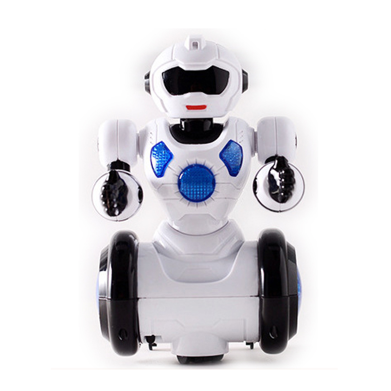 B O bump go plastic musical dancing kids robot toy with light