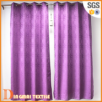 2017 Hotsale Indian Embroidery Extra Long Fancy Shower Curtains