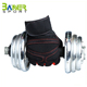 Neoprene black weight lifting gloves gym gloves fitness gloves