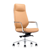 modern vip new custom pu leather rolling revolving secretary manager chair seat with wheels for office from china