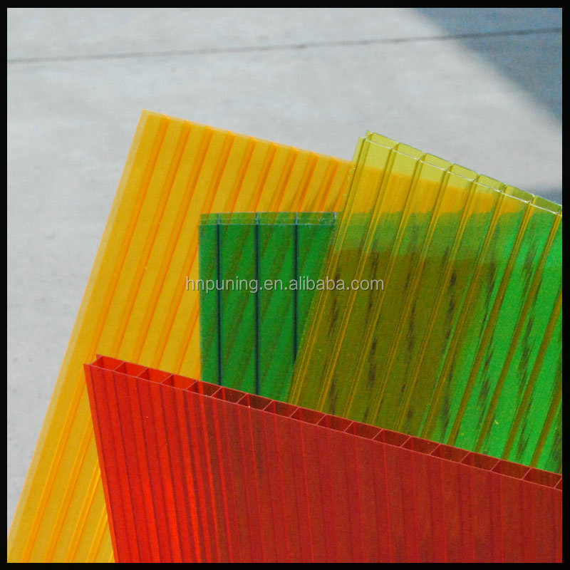 PC Transparent Colored Polycarbonate Plastic Sheet