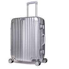 20''/24''/28'' PC+ABS Colorful bass semi finish luggage
